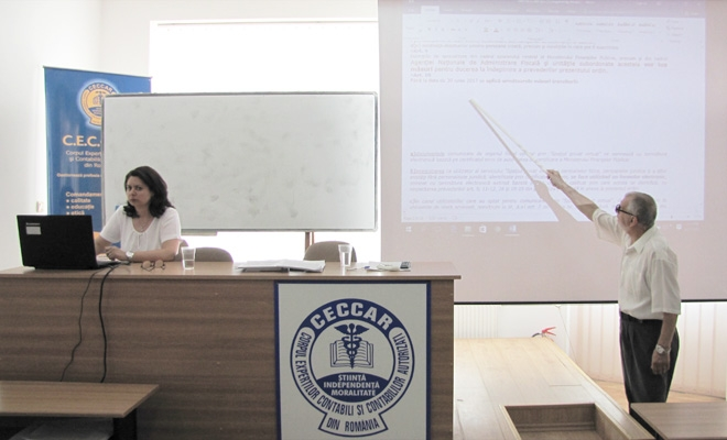 Seminar pe teme de fiscalitate, la Dolj