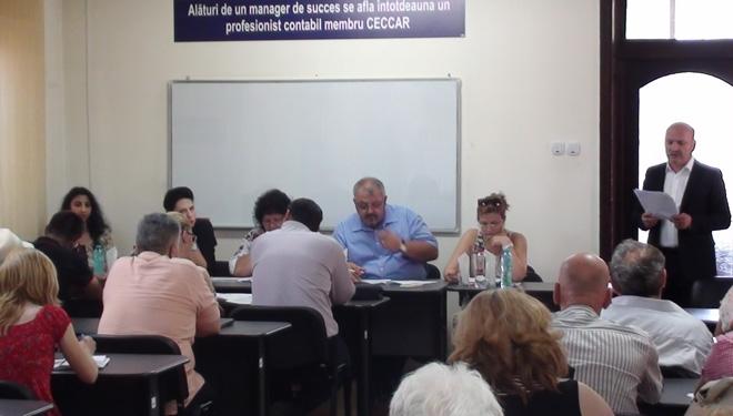 CECCAR Prahova: Dezbateri cu beneficiarii lucrărilor de expertiză contabilă judiciară