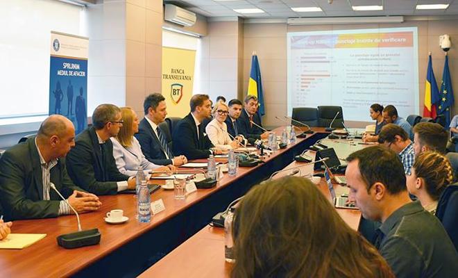 Au fost semnate convențiile de colaborare între Ministerul pentru Mediul de Afaceri, Comerț și Antreprenoriat și instituțiile bancare partenere în implementarea programului Start-up Nation