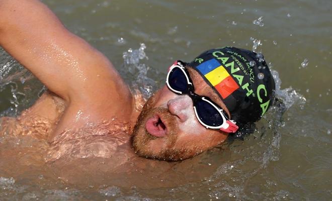 Contemporanul nostru Avram Iancu a străbătut înot Dunărea de la izvoare până la vărsarea în mare
