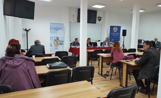 CECCAR Buzău: Întrunire cu beneficiarii lucrărilor de expertiză contabilă judiciară