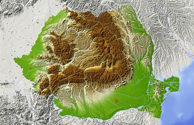 Hărți de risc natural pentru cutremure și alunecări de teren