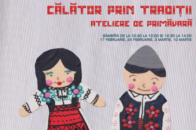 """Călător prin tradiții: ateliere de creație pentru copii, la Muzeul Satului """"Dimitrie Gusti"""""""