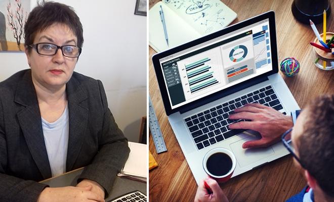 """""""Drumul de la lampa cu gaz la laptop, de la contabilitatea manuală la programe online, un drum al propriei împliniri profesionale"""""""