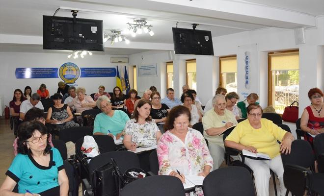 CECCAR Ialomița: Noutățile legislative, prezentate membrilor de reprezentanți ai AJFP