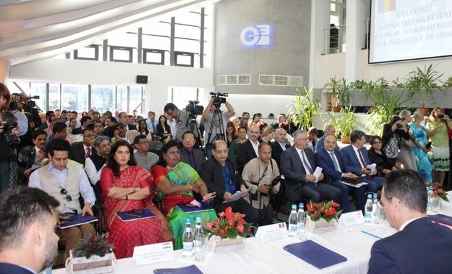 CECCAR Prahova: Delegație a filialei, prezentă la reuniunea organizată de Camera de Comerț și Industrie cu înalți oficiali guvernamentali din India