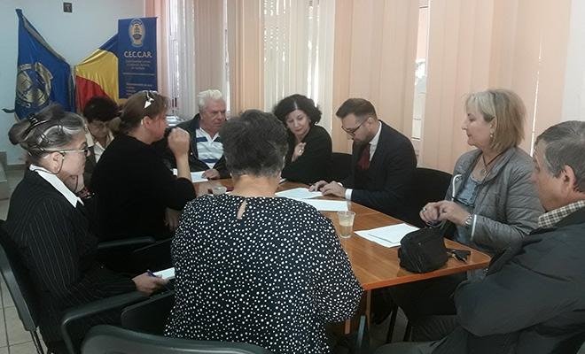CECCAR Teleorman: Întâlnire a membrilor Grupului Experților Judiciari cu beneficiarii lucrărilor de expertiză
