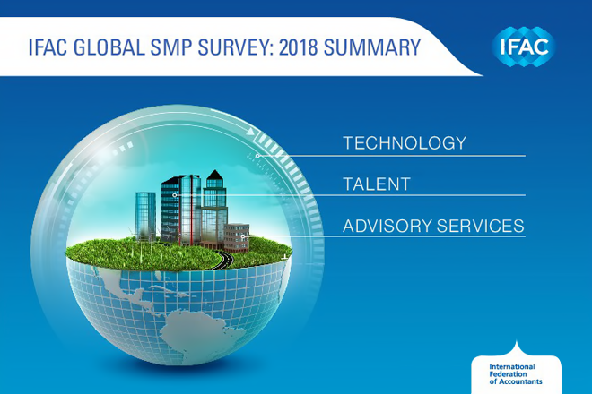 IFAC a publicat rezumatul concluziilor Chestionarului global pentru PMM-uri 2018 – Transformarea digitală și buna gestionare a talentelor sunt cheia dezvoltării firmelor mici de contabilitate