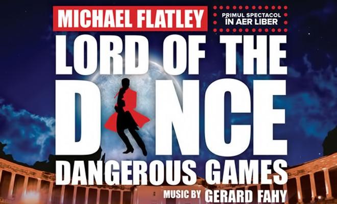 Spectacolul Dangerous Games al companiei Lord of the Dance, reprezentaţie în aer liber la Bucureşti