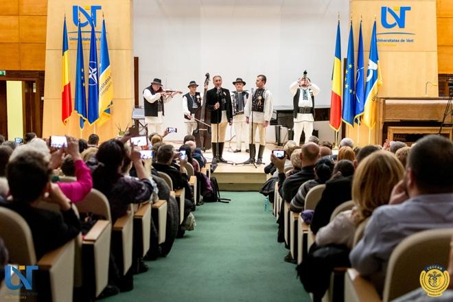 CECCAR Timiș și UVT: Concert susținut de Nicolae Furdui Iancu, făcut cadou timișorenilor în anul Centenarului