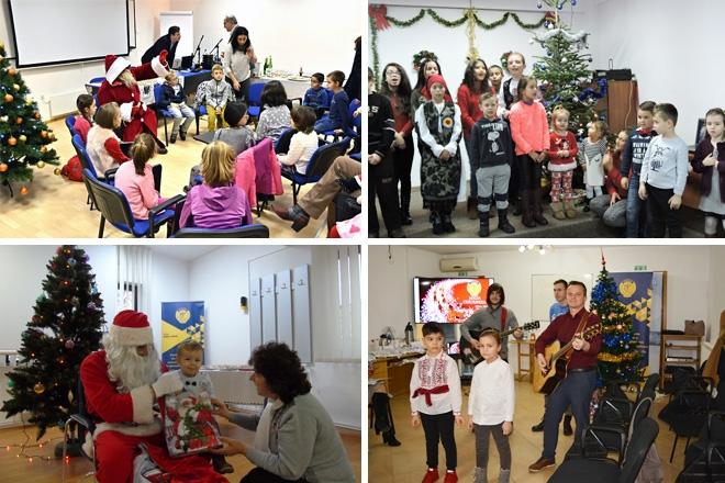 Spiritul sărbătorilor de iarnă, adus de Moș Crăciun în filialele CECCAR