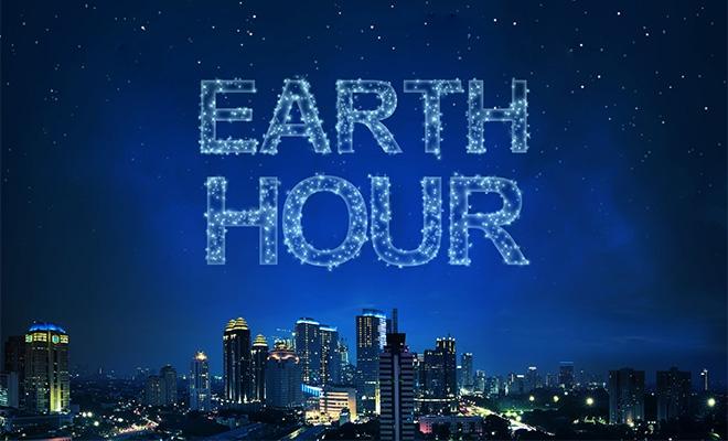 Ora Pământului (Earth Hour), pe 30 martie, de la ora locală 20:30