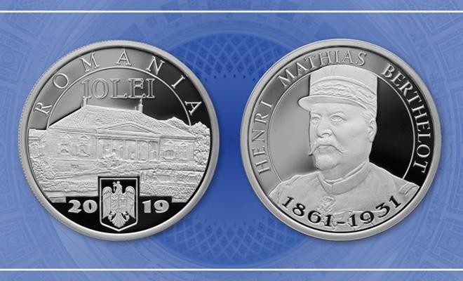 Emisiune numismatică cu tema Desăvârșirea Marii Uniri – Henri Mathias Berthelot