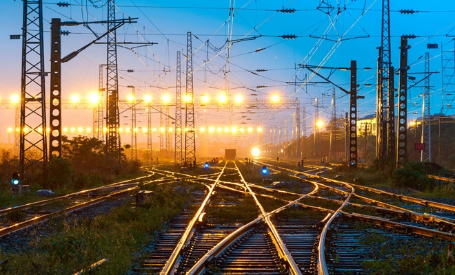 Liniile de cale ferată electrificate, 37,4% din rețeaua de căi ferate în exploatare la sfârșitul anului 2018