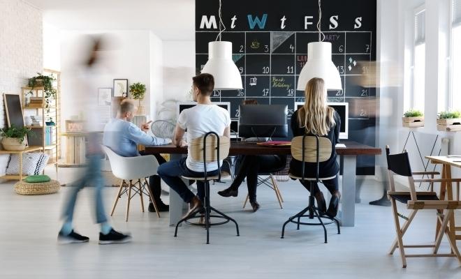 La finalul lui 2018, spațiile flexibile de lucru ajungeau la 1,5% din totalul spațiilor de birouri în 22 de orașe europene