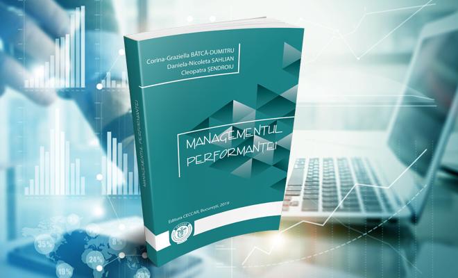 Managementul performanței, o nouă publicație care vine în sprijinul stagiarilor