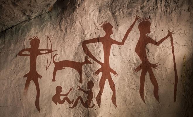 Cea mai veche lucrare de artă din lume, din urmă cu 44.000 de ani, într-o peșteră din Indonezia