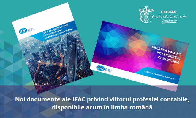 Două noi documente ale IFAC privind viitorul profesiei contabile, traduse de CECCAR în limba română