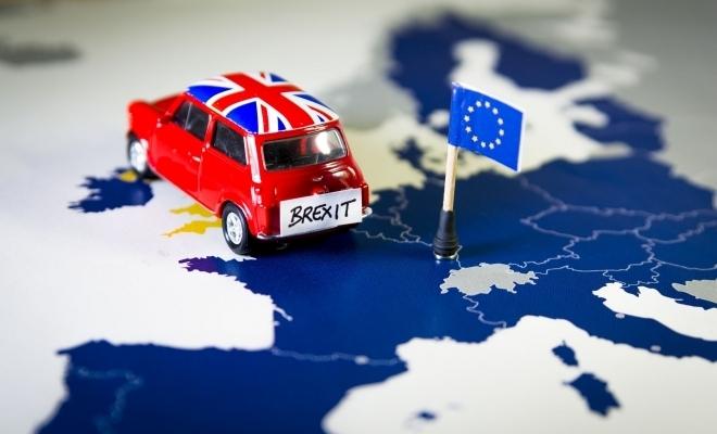 Hărţi cu puncte vamale post-Brexit/posturi de control între Irlanda de Nord şi restul Marii Britanii
