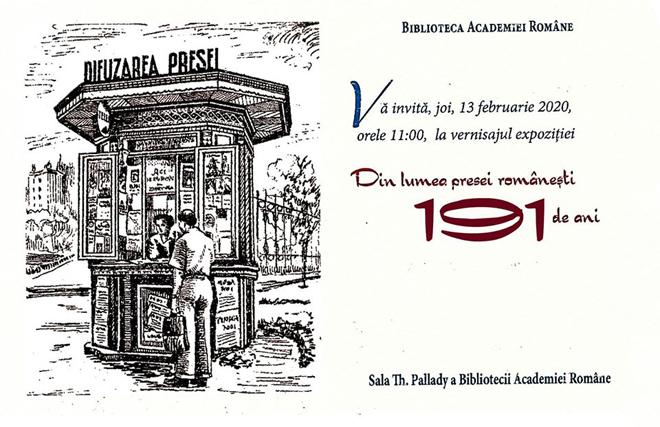 Istoria clipei,într-o expoziție dedicată presei românești