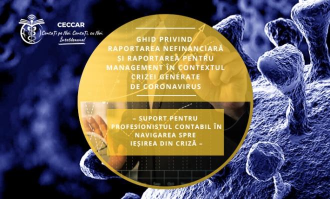 Ghid privind raportarea nefinanciară și raportarea pentru management în contextul crizei generate de coronavirus