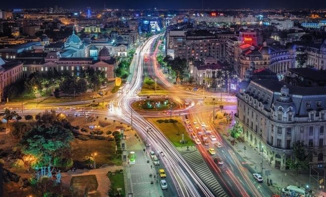 Zone de promenadă în centrul Bucureștiului, la sfârșit de săptămână