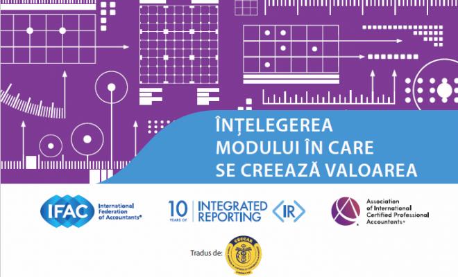 """Documentul IFAC """"Înțelegerea modului în care se creează valoarea"""", disponibil în limba română"""