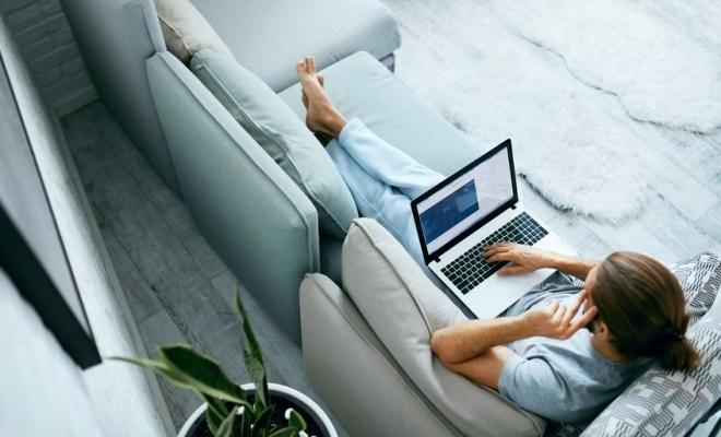 EFE: Numărul angajaţilor care pot lucra de acasă variază mult în zona euro