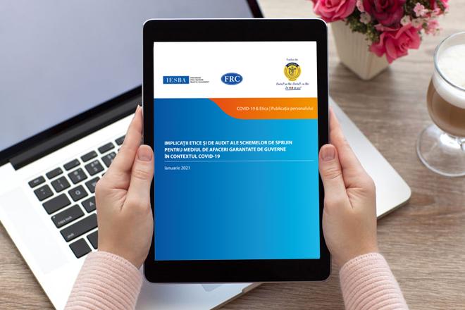 O nouă publicație IFAC, tradusă în limba română: Implicațiile etice și de audit ale schemelor de sprijin pentru mediul de afaceri garantate de guverne în contextul COVID-19