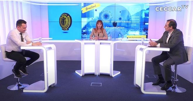 """Tiberiu Stoian, antreprenor, la CECCAR TV: """"Profesioniștii din domeniul financiar-contabil sunt ca niște «îngeri» care veghează asupra businessului nostru"""""""