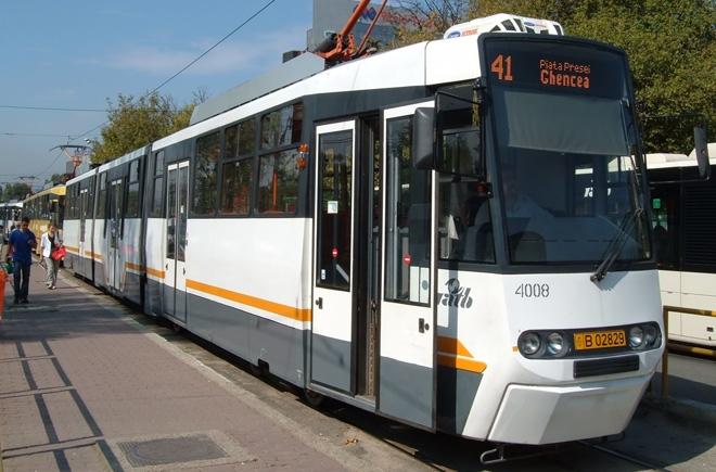 Circulația tramvaielor pe linia 41 din Capitală, oprită în acest weekend