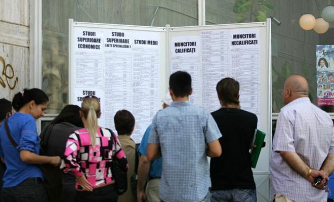 Rata şomajului înregistrat în evidenţele ANOFM, 3,19% în luna martie