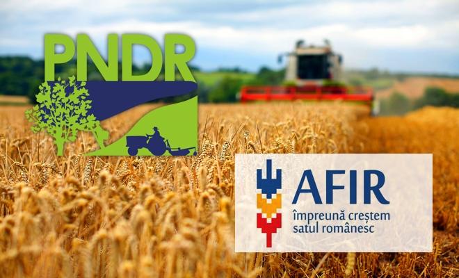 AFIR: Fermierii îşi pot asigura culturile şi animalele prin intermediul PNDR 2020; sesiunea este deschisă până la 30 noiembrie