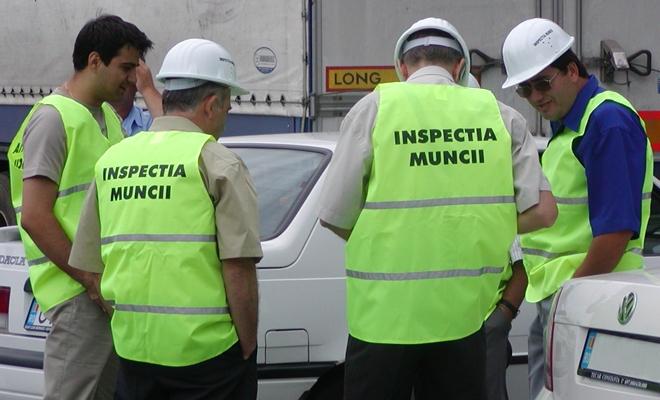 Amenzi de circa 1,42 milioane euro aplicate de Inspecţia Muncii în perioada 8-26 iulie