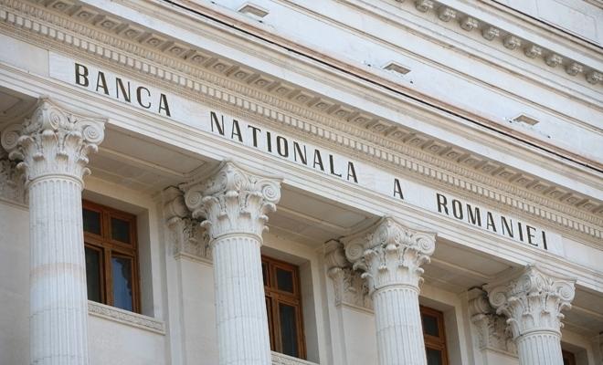 Rezervele valutare administrate de BNR, 34,123 miliarde euro, la 31 martie