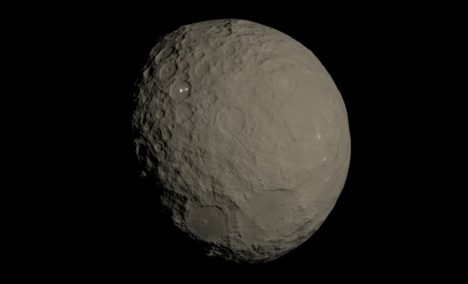 A fost descoperit un nou ocean în sistemul nostru solar; cercetătorii spun că există apă pe Ceres