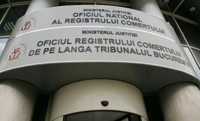 ONRC: 101.706 persoane fizice şi juridice, înmatriculate în primele 11 luni din 2020