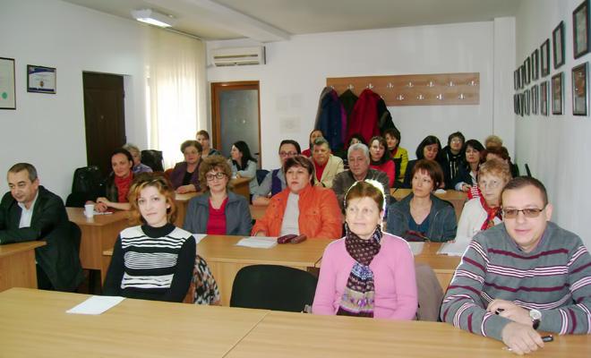 Filiala Dâmbovița - seminar pe tema noutăților legislative