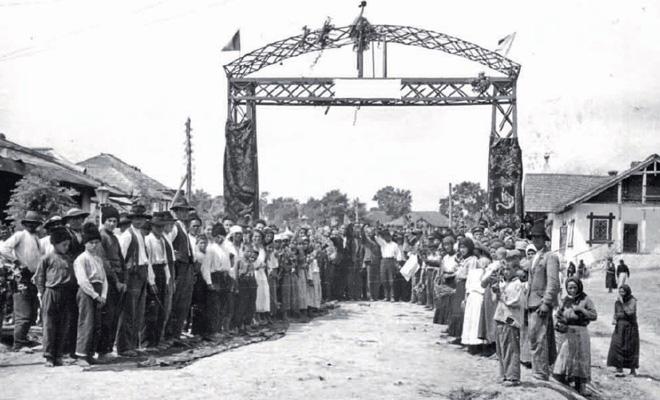 Vizita lui Alexandru Marghiloman în ținutul Lăpușna în 1918, cu ocazia Unirii Basarabiei cu România