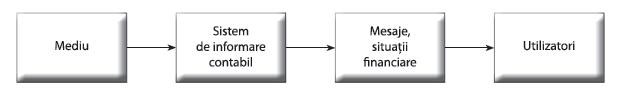 Figura 2. Procesul de comunicare contabilă
