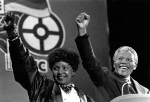 Nelson și Winnie Mandela