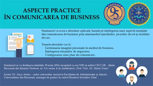 București: Aspecte practice în comunicarea de business