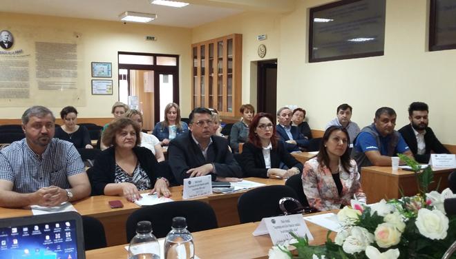 Filiala CECCAR Bacău - Discuții privind importanța serviciilor financiar-contabile în activitatea IMM-urilor