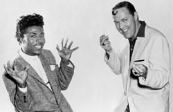 Little Richard împreună cu o altă legendă rock'n'roll, Bill Haley