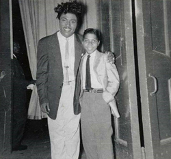 Little Richard împreună cu remarcabilul Frankie Lymon, februarie 1959