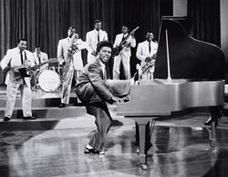 Little Richard într-o apariție televizată, în anii'50