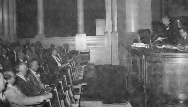 Prima Conferință Națională a CECCAR. Aspect din sală