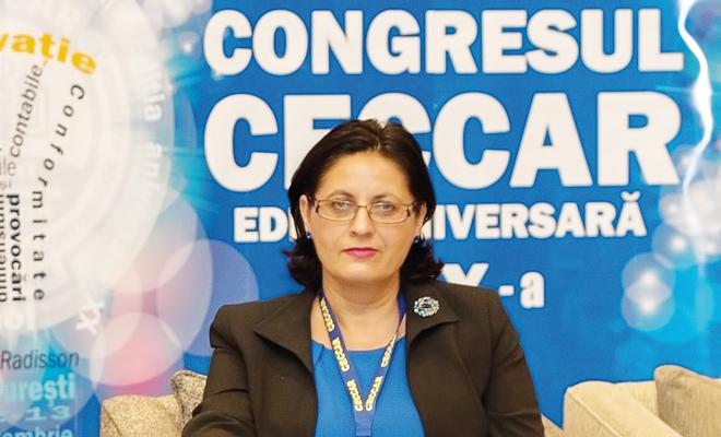 prof. univ. dr. Adriana Tiron-Tudor, membru al IPSASB din cadrul IFAC, și membru al FEE Public Sector Group