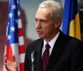 Hans Klemm,  ambasadorul SUA la București