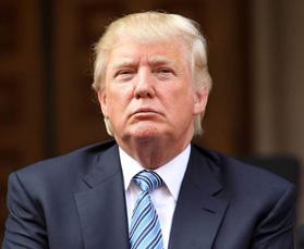 Donald Trump,   președintele Statelor Unite ale Americii